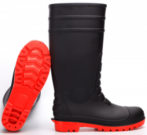 pvc boots with steel toe